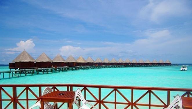 最美旅游胜地-马尔代夫-蓝色美人蕉岛